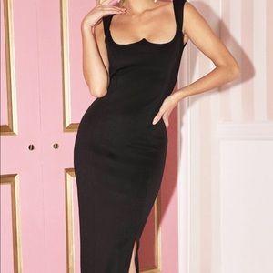Black Maxi occasion dress